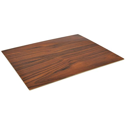 Melamin Platte, Holzoptik