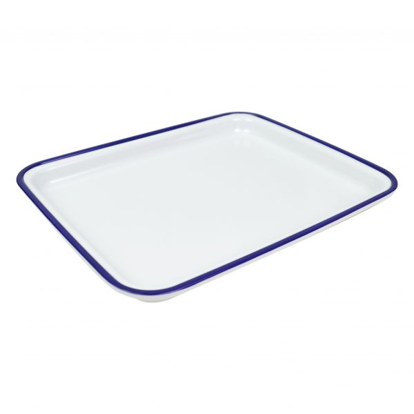 Tablett, Emaille-Optik, GN 1/2, 30 mm hoch
