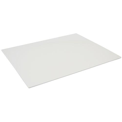 Melamin Platte, weiß