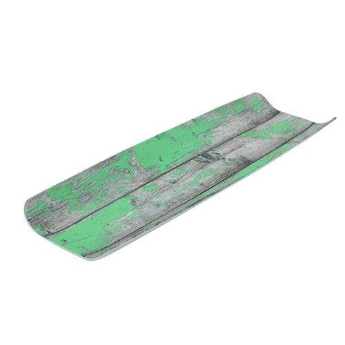 Tura, gebogene Platte mit Holz-Effekt, GN 2/4, 40 mm hoch