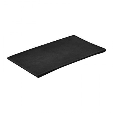 Melamin Platte 246 x 140 x 7,5mm - Schwarz