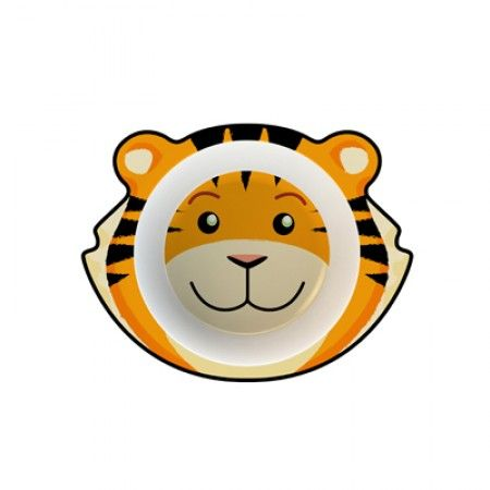 Suppenteller für Kleinkinder mit Tiger als Motiv