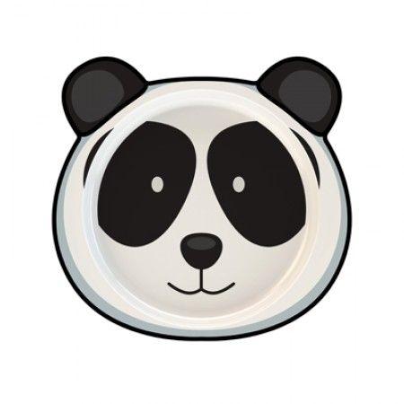 Teller für Kleinkinder mit Panda als Motiv