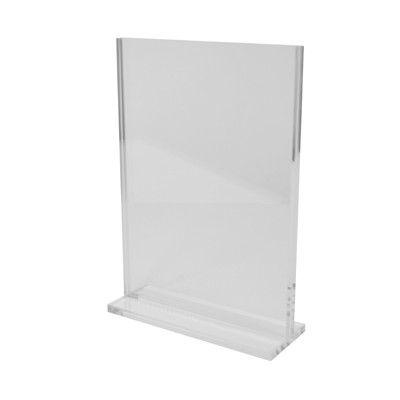 Deluxe, Menü-Halter, A4, Transparent
