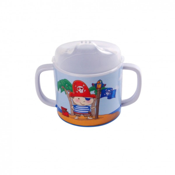 Kinderbecher Pirat, 200ml