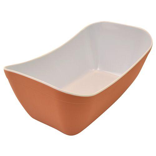 Verdura Crock, Terracotta / Weiß matt, 3 Größen