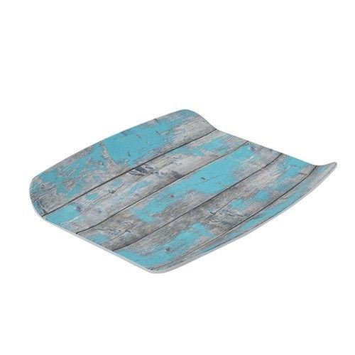 Tura, gebogene Platte mit Holz-Effekt, GN 1/2, 40 mm hoch