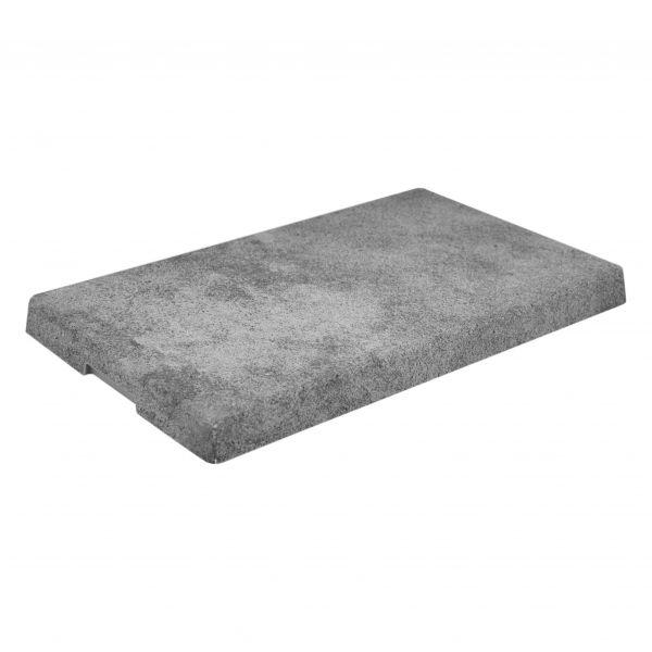 Urban, Platte, Beton-Effekt, GN 1/4, 20 mm hoch